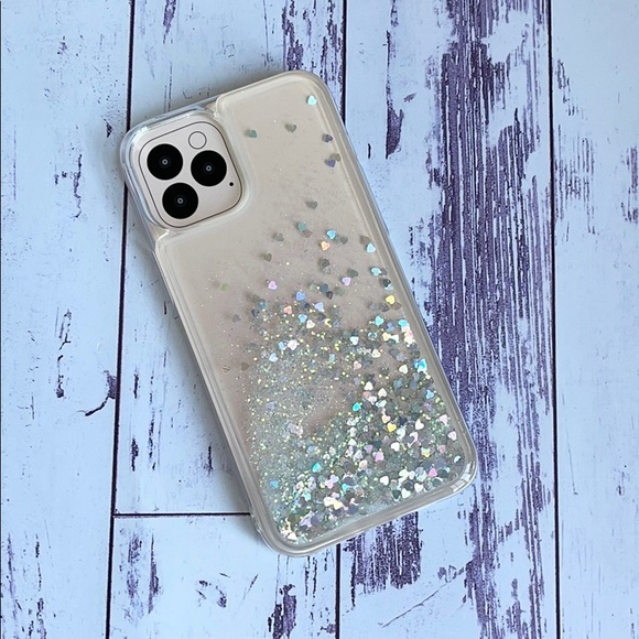 NWT iPhone 12 Pro Max Glitter Case